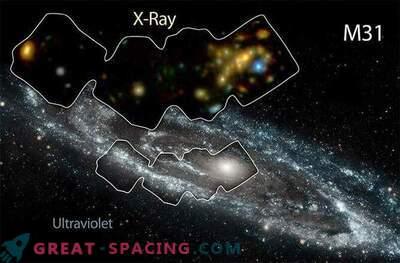 La galassia di Andromeda viene riscaldata da