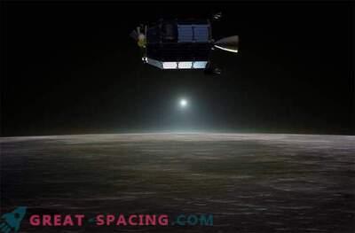 La sonda NASA ha mostrato che la luna è avvolta dal neon