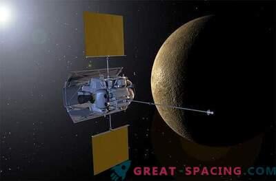 Una navicella ha osservato un'eclissi lunare da Mercurio